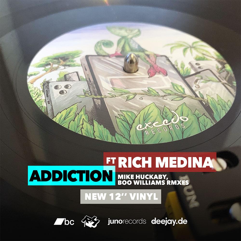 Addiction ft. Rich Medina, incl. Mike Huckaby, Boo Williams rmx