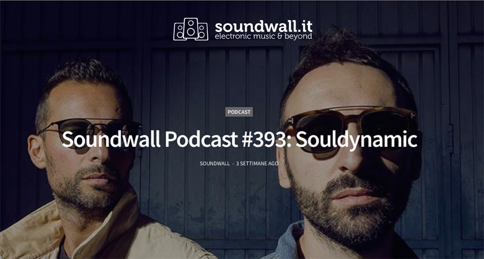 Souldynamic Podcast for Soundwall