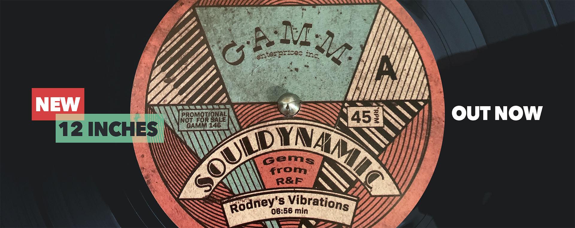 Souldynamic Gems from R&F Gamm Records